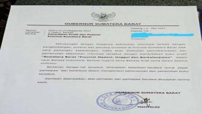 Praktisi Hukum Ardyan: Segera Tetapkan Tersangka Surat Sumbangan yang Diteken Gubernur